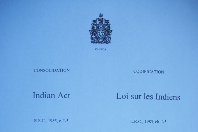 Indian Act Canada cover