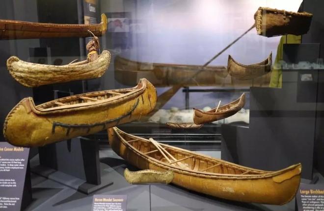 Peabody Museum canoe models